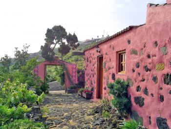 Traditionelle Finca auf La Palma