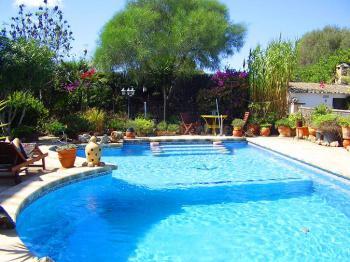 Pool vom Ferienhaus