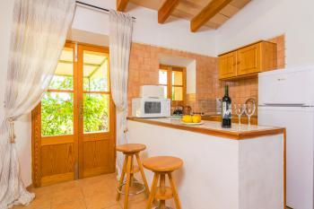 Integrierte offene Küche