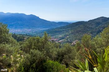 Toller Panoramablick auf das Tal
