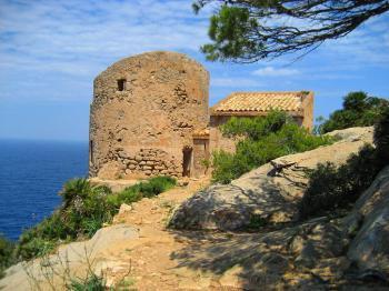 Wachturm Torre de Cala Basset