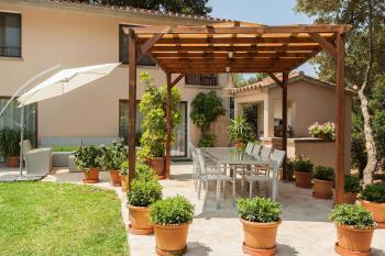 Ferienhaus mit Pool, Heizung und Internet bei Pollenca