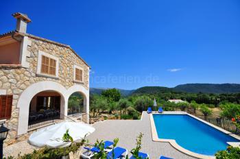 Ferienhaus auf dem Land mit Pool