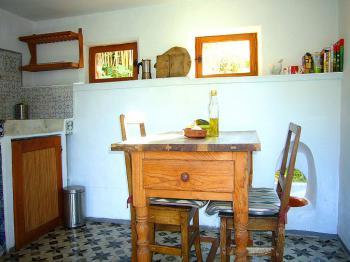 Essplatz in der Wohnküche