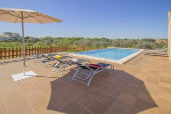 Strandnahe Finca mit Pool in ruhiger Lage