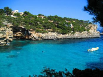 Bucht an der Ostküste Mallorcas