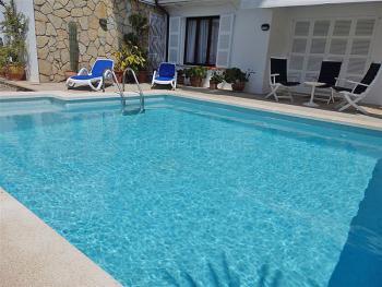 Ferienhaus mit Pool in Cala Ratjada