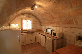 Urige Küche