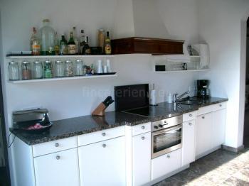 Küchenzeile im Ferienhaus