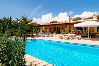 Strandnahe Finca mit Pool - Cala Mondrago