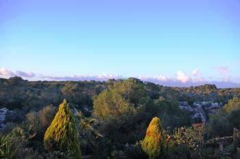 Blick auf das Naturschutzgebiet von Cala Pi