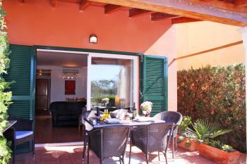 Ferienhaus mit Klimaanlage in Cala Pi