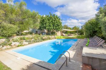 Cala Millor: Ferienhaus mit Pool und Garten