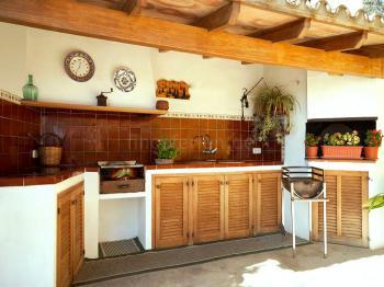 Aussenküche mit Grill
