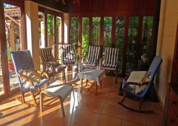 Ferienhaus für 2 Personen - Wintergarten