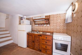 Küche im mallorquinen Stil