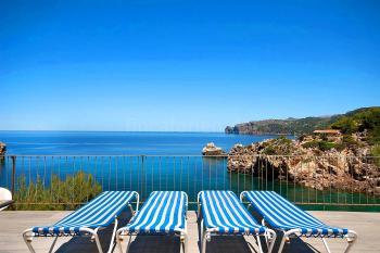 Ferienhaus mit Meerblick - Cala Deia