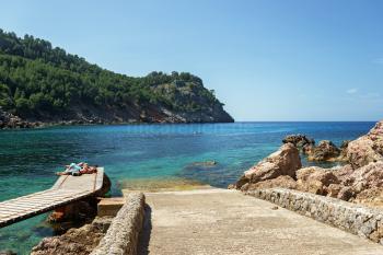 Relaxen im Urlaub an der Cala Tuent