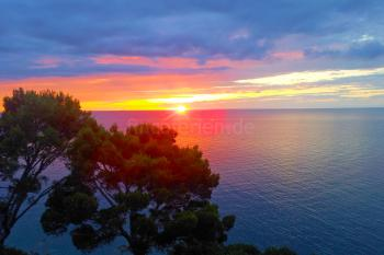 Sonnenuntergang Cala Tuent