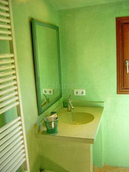 Duschbad in Mint