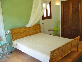 Schlafzimmer in Mint