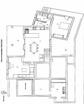 Grundriss unterer Wohnbereich