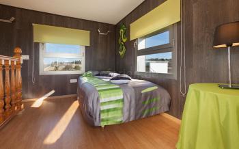 Offenes Schlafzimmer