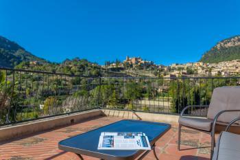 Ferienhaus mit Blick auf Valldemossa