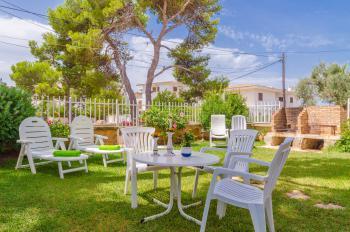 Strandnahes Ferienhaus mit Klimaanlage
