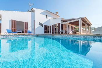 Strandnahes Ferienhaus mit Pool - Cala Marçal