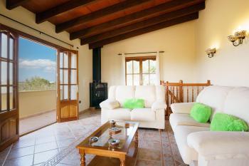Wohnzimmer und Balkon - Obergeschoss