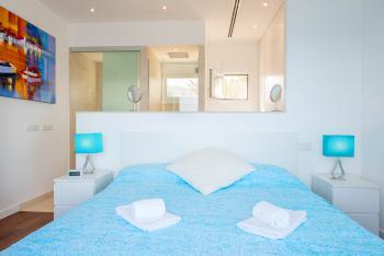 Gemütliches Schlafzimmer mit