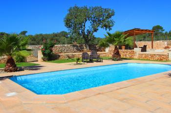 Kleines Ferienhaus mit Pool bei Campos