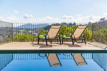 Finca bei Caimari mit Pool und Panoramablick