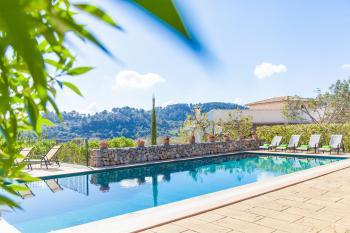 Finca in Alleinlage mit Pool und Panoramablick