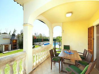Ferienhaus mit Pool an der Playa de Muro