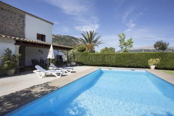 Mallorca Urlaub nahe Pollenca - Finca mit Pool