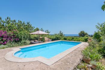 Strandnahes Ferienhaus mit Meerblick