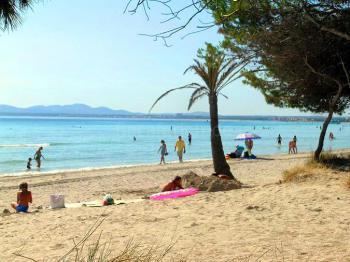 Chalet am Strand von Alcudia