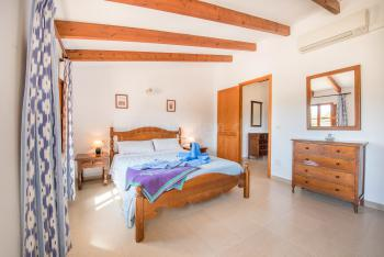Schlafzimmer mit privater Terrasse