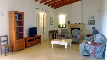 Wohnraum mit Internet W-LAN und SAT-TV