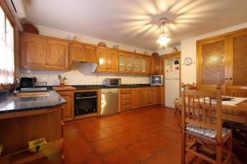Küche mit Klimaanlage