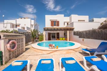 Strandurlaub Cala d'Or - Ferienhaus mit Pool