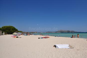 Schöner Sandstrand - Playa de Alcudia