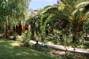 Ferienhaus mit idyllischem Garten