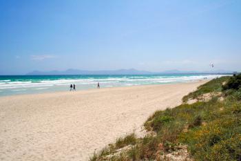 Strand in der Bucht von Alcudia