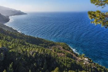 Toller Blick auf die Steilküste bei Valldemossa