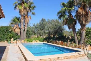 Finca mit Pool - Cala Santanyi