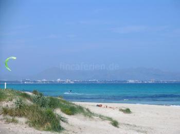 Strand der Playa de Muro