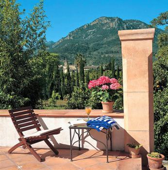 Terrasse mit schönem Blick auf Soller